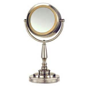 home depot cerritos dale 15 in nickel cerritos mirror with light
