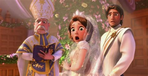 film disney zaplatani watch a clip from disney s new short tangled ever after