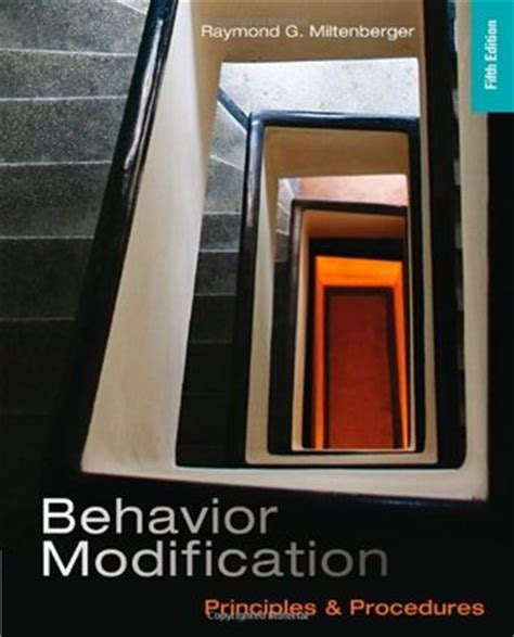 Behavior Modification Books by Behavior Modification Principles And Procedures By
