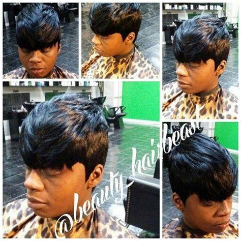 27 piece with swoop black women 27 piece hairstyles with bangs hairstyles