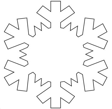 14 Free Snowflake Template Free Printable Word Pdf Jpeg Format Download Free Premium Decoration Templates Free Printable