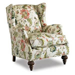 botanical print upholstery fabric chair abington