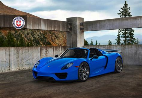custom porsche 918 voodoo blue porsche 918 spyder brings the magic on custom
