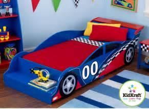 kidkraft racecar toddler bed free shipping