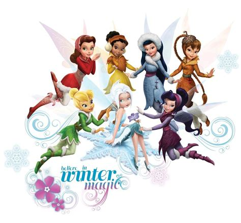 disney fairies secret of the wings 54 big wall stickers