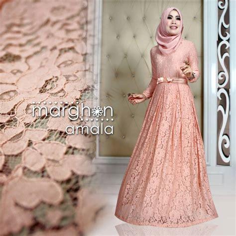 Baju Muslim Brokat Mewah Tren Busana Muslim Wanita Terbaru Nibinebu