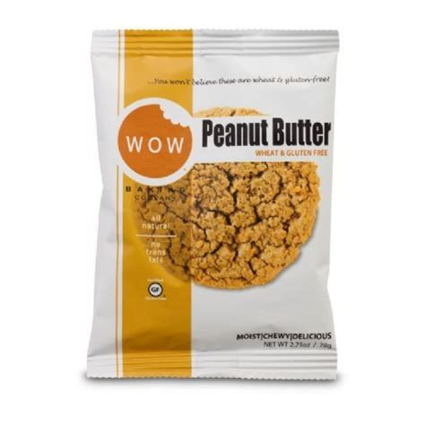 wow peanut butter shelf stable cookie