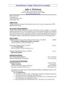 Entry Level Accounting Resume Exles by Accounting Resume Objectives Read More Http Www Sleresumeobjectives Org Accounting