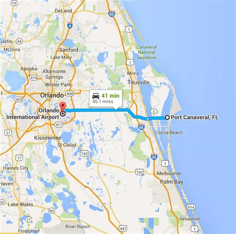 Car Service From Orlando Airport To Port Canaveral by Port Canaveral Taxi Cab