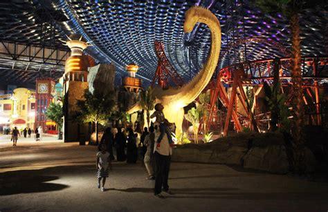 dubai opens massive marvel branded indoor theme park