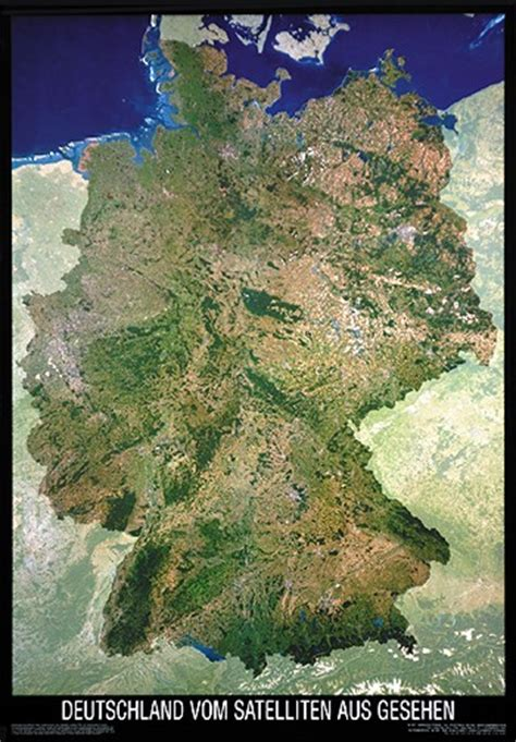 germany satellite map satellite image map of germany