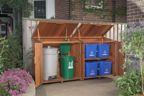 storage solutions bins  backyard toys  backyard fun garbage storage outdoor storage
