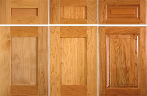 Trying To Decide Between Cherry And Alder Cabinet Doors Alder Cabinet Doors