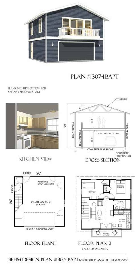 Garage With Apartment Above Floor Plans | best 25 garage apartment plans ideas on pinterest