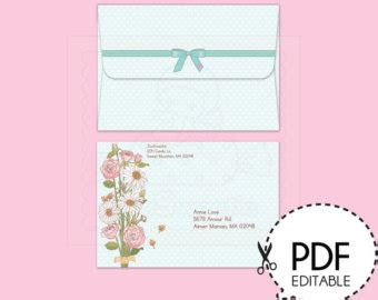 a7 greeting card template a7 card template etsy