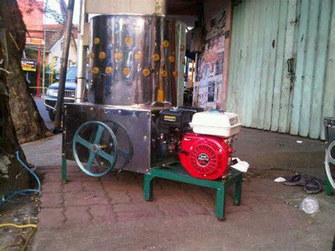 Harga Mesin Pencabut Bulu Ayam Di Makassar jual mesin perontok padi power thresher alat perontok