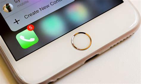 apple iphone     pressure sensitive home button