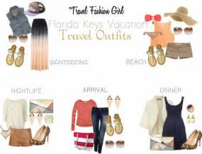 Tropical Vacation Wardrobe by What To Pack For A Florida Vacation
