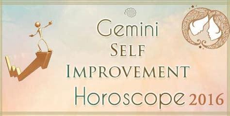 gemini love horoscope 2016 gemini self improvement horoscope 2016