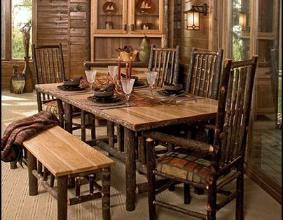 log cabin dining room furniture decorating theme bedrooms maries manor log cabin