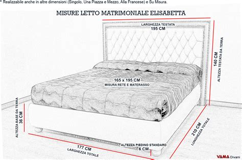 misure letto letto con cornice rivestito in pelle e capitonn 232