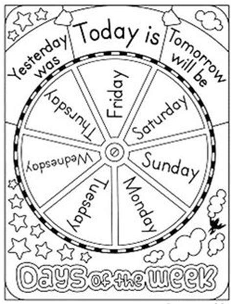 Les jours de la semaine en anglais / Days of the week