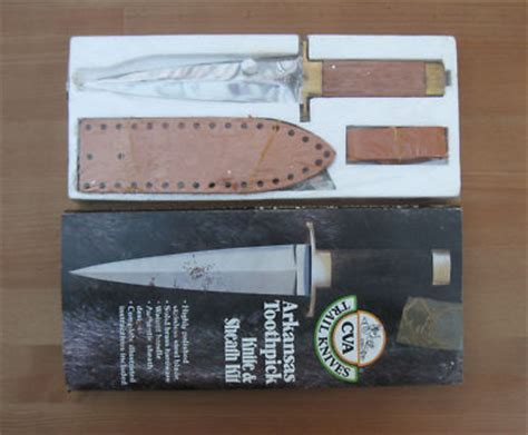 bowie knife kits vintage bowie knife early cva kit new italy antique
