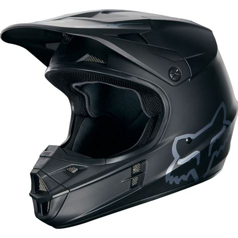 fox tracker motocross 2018 fox mx v1 motocross helmet matte black 1stmx co uk