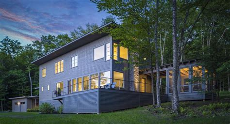 Small Home Builders Vermont Two Energy Efficient Vermont Homes Sisler Builders