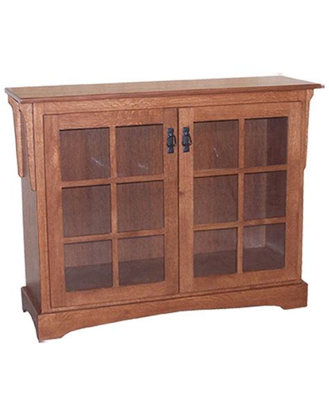 Small Mission Bookcase With Doors Deutsch Furniture Haus Small Bookcase With Doors