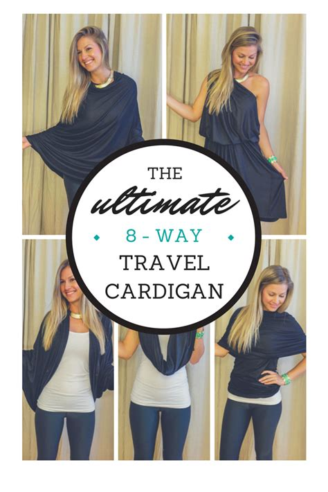 Travel Giveaway - the ultimate 8 way travel cardigan giveaway the blonde abroad