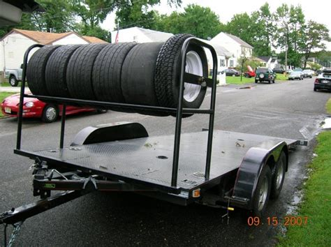 Tire Rack Trailer Tires by Pictures Of Open Trailers With Tire Racks Corvetteforum Chevrolet Corvette Forum Discussion