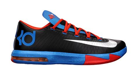 all kd shoes nike kd vi okc away now available sole collector