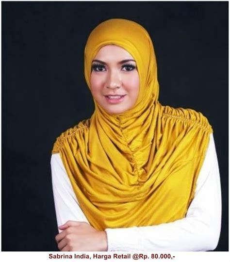 Gamis Sabrina Hitam jilbab sabrina india mall pakaian indonesia