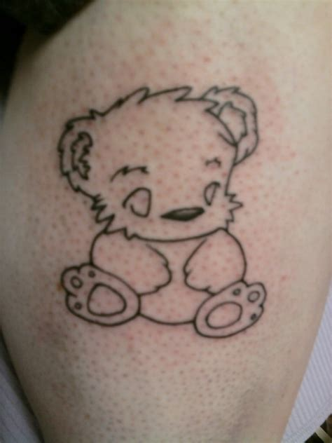 teddy bears tattoos designs outline teddy design tattooshunt