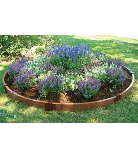 raised flower bed kits circular raised bed kit gardening pinterest gardens