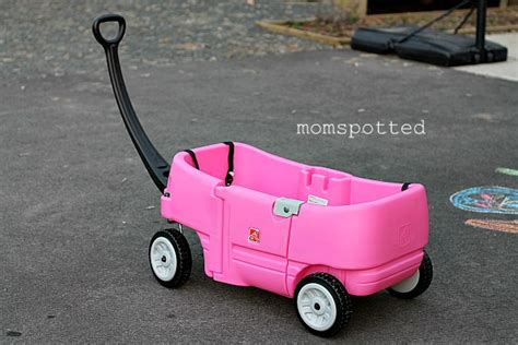 step 2 all around wagon pink step2 wagon for 2 review giveaway momspotted