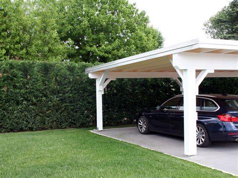 tettoie auto legno tettoia per auto a monselice pd legno smart