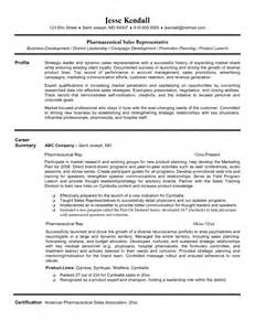 Entry Level Management Resume Sles by Pharmaceutical Sales Resume Entry Level Sles Of Resumes