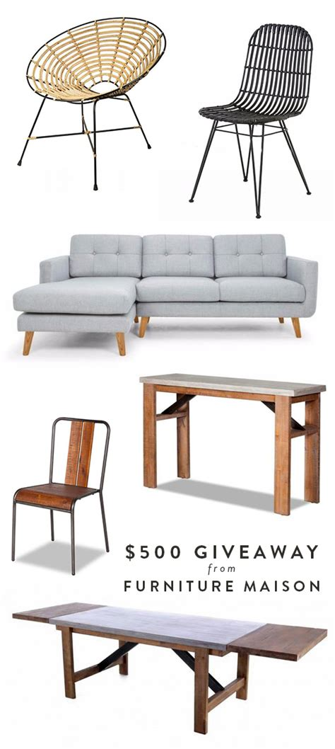Sofa Giveaway - a giveaway from furniture maison sfgirlbybay