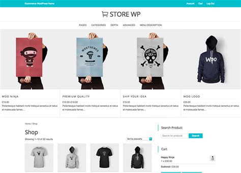 best free ecommerce themes 47 best free ecommerce themes 2018 freshdesignweb