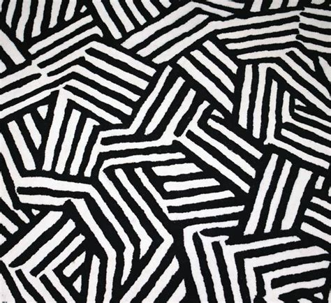 black and white pattern carpet crosshatch pattern hand tufted black and white rug 2005