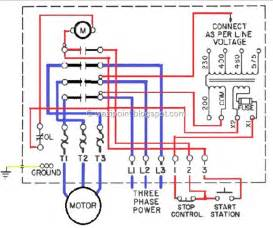 low voltage controled motor wiring system