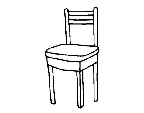 silla dibujo dibujos para colorear de sillas y mesas imagui