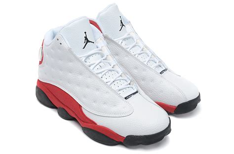 air jordan 13 men c air jordan 13 retro mens white black varsity red for sale