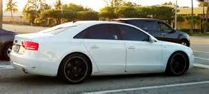 white audi a8 black rims miami cars on