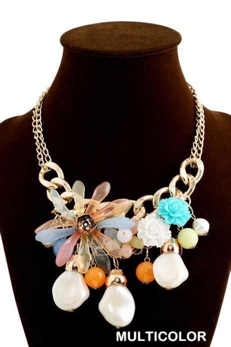 Kalung Choker Velvet Flower Pearls 6886 bling pink lavender rhinestone choker necklace velvet