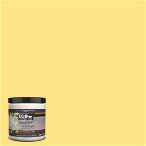behr 380b 4 daffodil yellow interior exterior paint