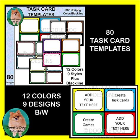 templates for creating task cards 125 best images about interesting clipart and graphics on