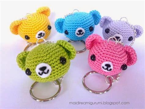 free amigurumi pattern ravelry make it teddy bear keychain free crochet pattern